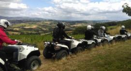 Randonnée en Quad dans le Beaujolais près de Lyon
