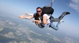 Saut en Parachute Tandem près de Troyes
