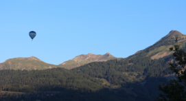 Vol Montagne en Montgolfière aux portes des Ecrins