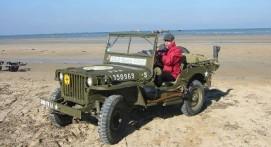 Balade en Jeep sur les sites des plages du débarquement