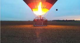 Vol en montgolfière à Marœuil