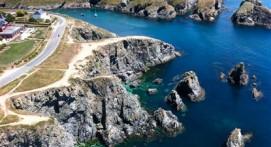 Survol en Hélicoptère de Belle-Île-en-mer