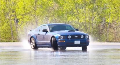 Pilotage Drift en Mustang GT - Circuit de Mortefontaine