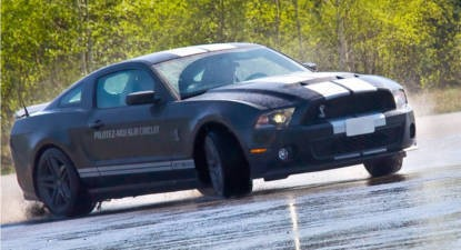Stage de Pilotage Drift en Shelby GT 500 - Circuit de Mortefontaine