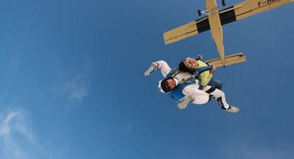 Saut en Parachute Tandem à Propriano