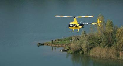 Baptême en Hélicoptère à proximité de Lyon