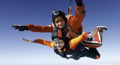 Saut en Parachute Tandem à Chalon-sur-Saône