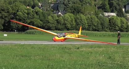Stage de pilotage planeur près de Chambéry