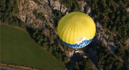 Vol en Montgolfière au-dessus des Hautes-Alpes