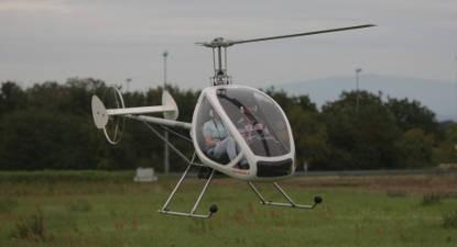 Stage d'initiation en ULM Hélicoptère à Mulhouse