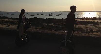 Balade côtes Carnac Segway