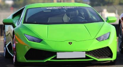 Pilotage d'une Lamborghini Huracan - Circuit de Fontenay le Comte