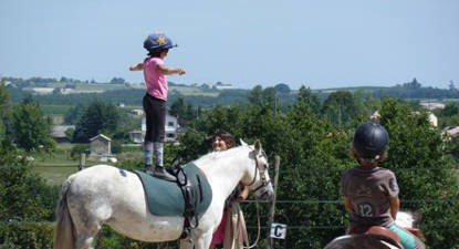 Découverte de l'équitation près d'Albi