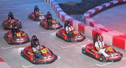 Session de Karting près de Lyon