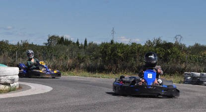 Session de Karting type