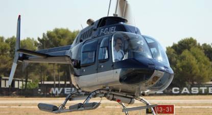 Vol en Hélicoptère au dessus de la Côte Varoise