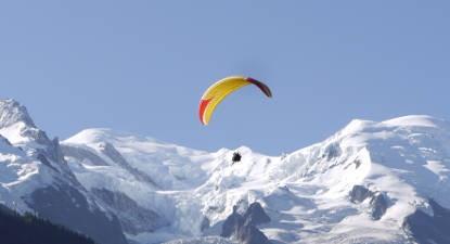 Baptême en Parapente à Planpraz au Mont-Blanc