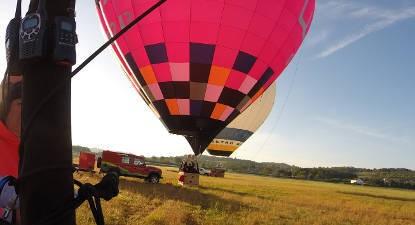Vol en montgolfière au dessus d'Albi