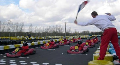 Session Karting près de Tours