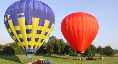 Vol en montgolfière à Forges-les-Eaux