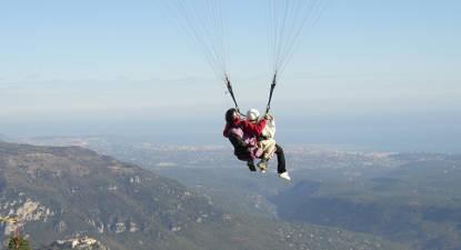 saut en parachute lavandou