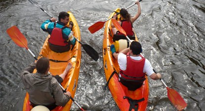 Location Kayak biplace près de Saint-Nazaire