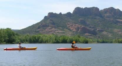 Balade en Canoë-Kayak près de Frejus
