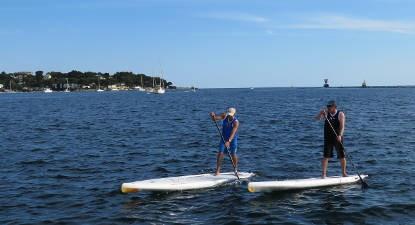 Cours de Paddle à Juan-les-Pins