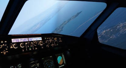 Simulateur avion Airbus A330 Paris