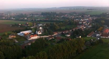 Vol en montgolfière près d'Arras