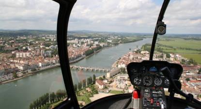 Tour en Hélicoptère à Mâcon