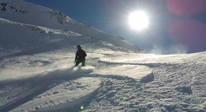 Cours particulier de snowboard à Oz-Vaujany