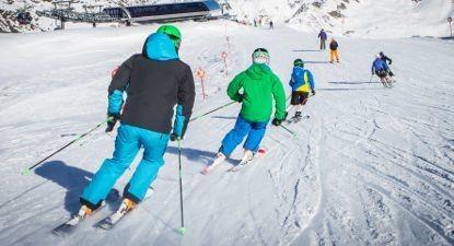 Stage collectif de ski à Risoul