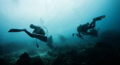 Formation à la plongée près d'Auray