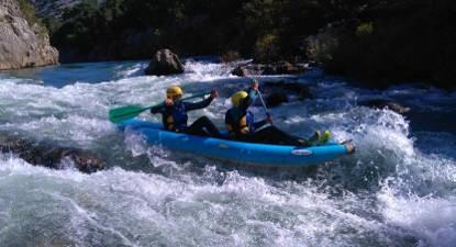 Rafting près de Montpellier
