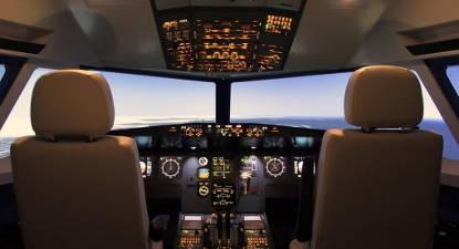 Simulateur d'avion Airbus A320 près de Toulouse
