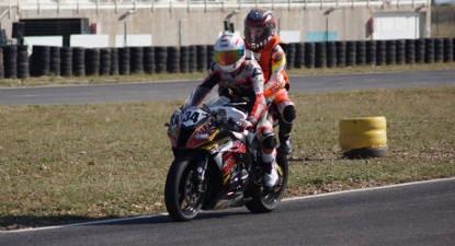 Baptême de Moto en ZX10R Kawasaki - Circuit d'Issoire