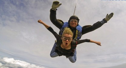 Saut en Parachute Tandem à Maubeuge