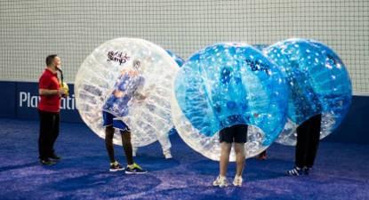 Bubble Bump près de Troyes