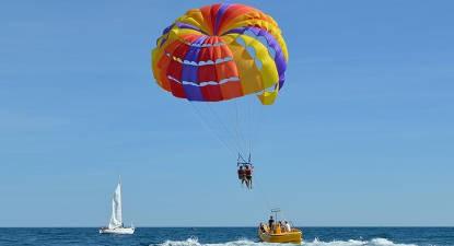 Vol en Parachute Ascensionnel à Palavas les Flots