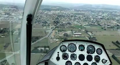 Vol d'initiation au pilotage pendulaire