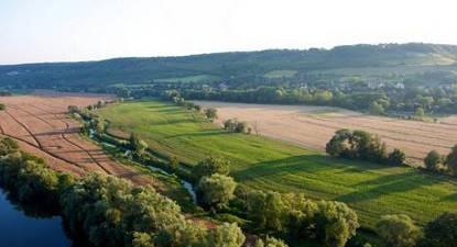 Vol montgolfière nacelle privative Les Andelys