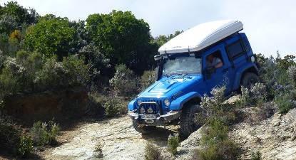 Randonnée 4x4 découverte Balagne en Corse
