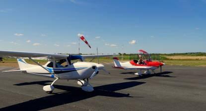 Initiation au pilotage d'avion ultra léger près de Libourne