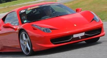 Stage de pilotage en Ferrari 458 - Circuit de Loheac