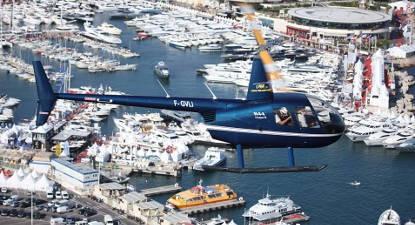 Vol en Hélicoptère à Monaco ou St Tropez