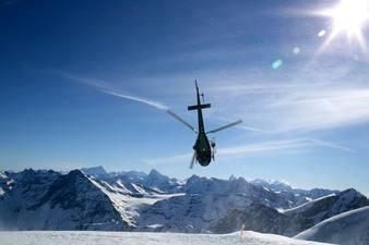 Vol en Hélicoptère à La Clusaz