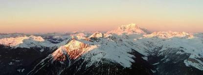 Vol en Hélicoptère à Val d'Isère