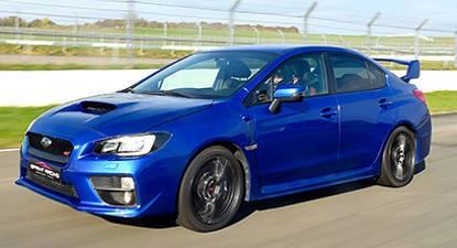 Pilotage d'une Subaru Impreza WRX STI - Circuit de Chambley