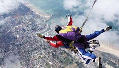 Saut parachute tandem à Utah Beach